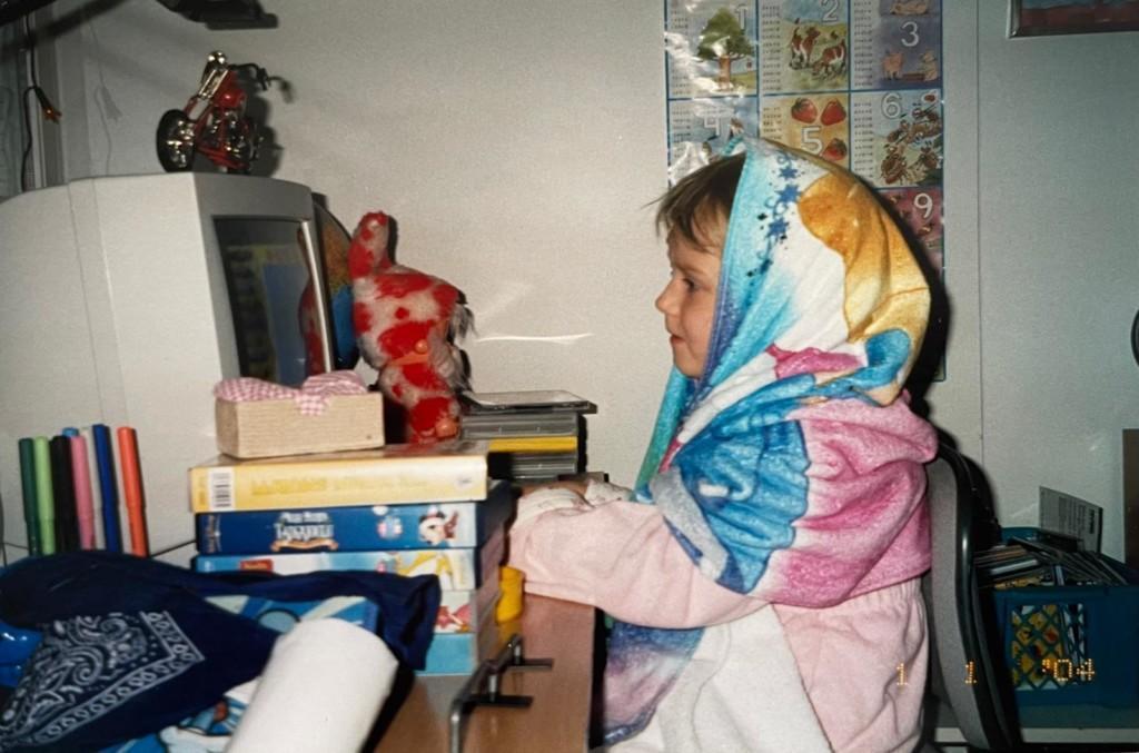 Jassi striimaaja lapsena